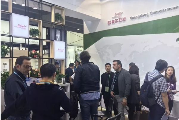 欧美尔卫浴携全系智能产品亮相广交会,让世界见证中国智造接头